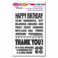 Stampendous - Clear Photopolymer Stamps - Wonderful Guy