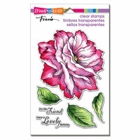 Stampendous - Clear Photopolymer Stamps - Rose Friend