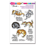 Stampendous - Clear Acrylic Stamps - Kitty Therapy