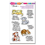 Stampendous - Clear Acrylic Stamps - Puppy Therapy