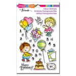 Stampendous - Clear Acrylic Stamps - Birthday Kids