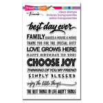 Stampendous - Clear Acrylic Stamps - Best Day