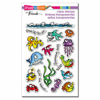Stampendous - Clear Photopolymer Stamps - Fishy Fun