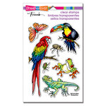 Stampendous - Clear Photopolymer Stamps - Jungle Life