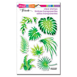 Stampendous - Clear Photopolymer Stamps - Jungle Greenery