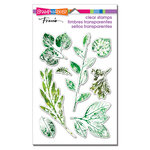 Stampendous - Clear Photopolymer Stamps - Leafy Imprint