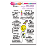 Stampendous - Clear Photopolymer Stamps - Birthday Fun