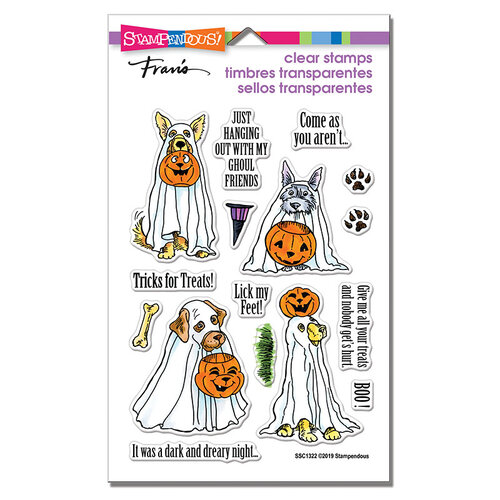 Stampendous - Halloween - Clear Photopolymer Stamps - Lick My Feet