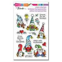 Stampendous - Christmas - Clear Photopolymer Stamps - Holiday Gnomes