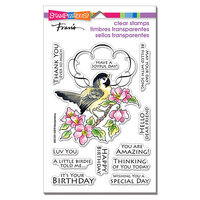Stampendous - Clear Photopolymer Stamps - Bird Frame