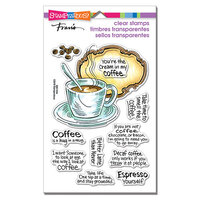 Stampendous - Clear Photopolymer Stamps - Coffee Frame