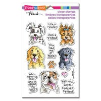 Stampendous - Clear Photopolymer Stamps - Dog Kisses