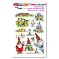 Stampendous - Clear Photopolymer Stamps - Gnome Travels