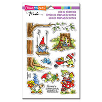 Stampendous - Clear Photopolymer Stamps - Gnoming Around