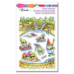 Stampendous - Clear Photopolymer Stamps - Gnome Pool