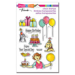 Stampendous - Clear Photopolymer Stamps - Birthday Gift