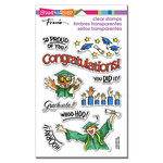 Stampendous - Clear Photopolymer Stamps - Grad Gift