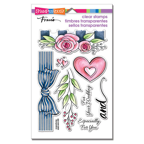 Stampendous - Clear Photopolymer Stamps - Wedding Gift