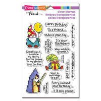 Stampendous - Clear Photopolymer Stamps - Gnome Sayings