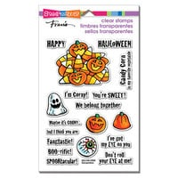 Stampendous - Halloween - Clear Photopolymer Stamps - Corny Sweets