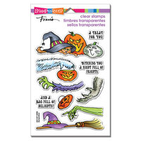 Stampendous - Halloween - Clear Photopolymer Stamps - Frightful Gift