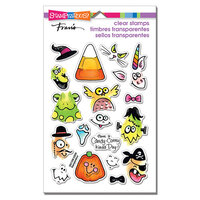 Stampendous - Halloween - Clear Photopolymer Stamps - Corny Candy