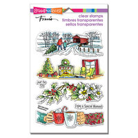 Stampendous - Christmas - Clear Photopolymer Stamps - Holiday Gift