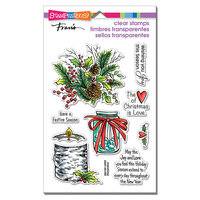 Stampendous - Christmas - Clear Photopolymer Stamps - Festive Season