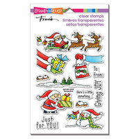 Stampendous - Clear Photopolymer Stamps - Christmas Gift