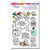 Stampendous - Clear Photopolymer Stamps - Survived 2020