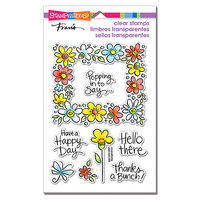 Stampendous - Clear Photopolymer Stamps - Flower Frame