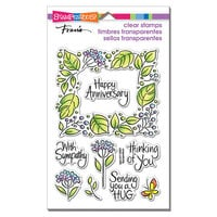 Stampendous - Clear Photopolymer Stamps - Leafy Frame