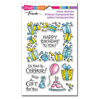 Stampendous - Clear Photopolymer Stamps - Gift Frame