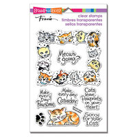 Stampendous - Clear Photopolymer Stamps - Kitty Frame