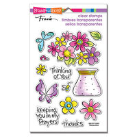 Stampendous - Clear Photopolymer Stamps - Pop Bouquet