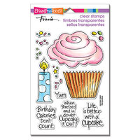 Stampendous - Clear Photopolymer Stamps - Pop Cupcake