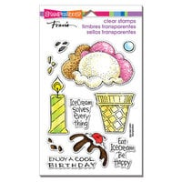 Stampendous - Clear Photopolymer Stamps - Pop Ice Cream
