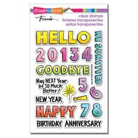 Stampendous - Clear Photopolymer Stamps - Hello 2021