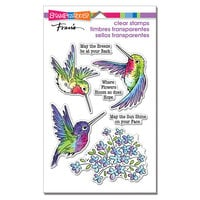 Stampendous - Clear Photopolymer Stamps - Hummingbird Hope