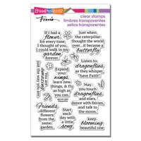 Stampendous - Clear Photopolymer Stamps - Winged Wishes