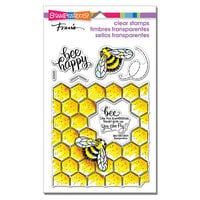 Stampendous - Clear Photopolymer Stamps - Bumblebee Happy