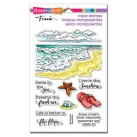 Stampendous - Clear Photopolymer Stamps - Ocean Frames