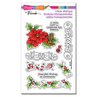 Stampendous - Clear Photopolymer Stamps - Christmas Frame