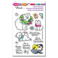 Stampendous - Christmas - Clear Photopolymer Stamps - Polar Play