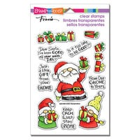 Stampendous - Christmas - Clear Photopolymer Stamps - Santa Frame