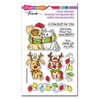 Stampendous - Christmas - Clear Photopolymer Stamps - Bright Nose Frame