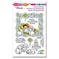 Stampendous - Christmas - Clear Photopolymer Stamps - Nativity Frame