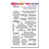 Stampendous - Clear Photopolymer Stamps - Christmas - Times Together