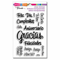 Stampendous - Clear Acrylic Stamps - Spanish Messages