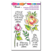 Stampendous - Clear Photopolymer Stamps - Fragrant Rose
